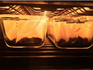 ラクッキングリルでお菓子を焼く