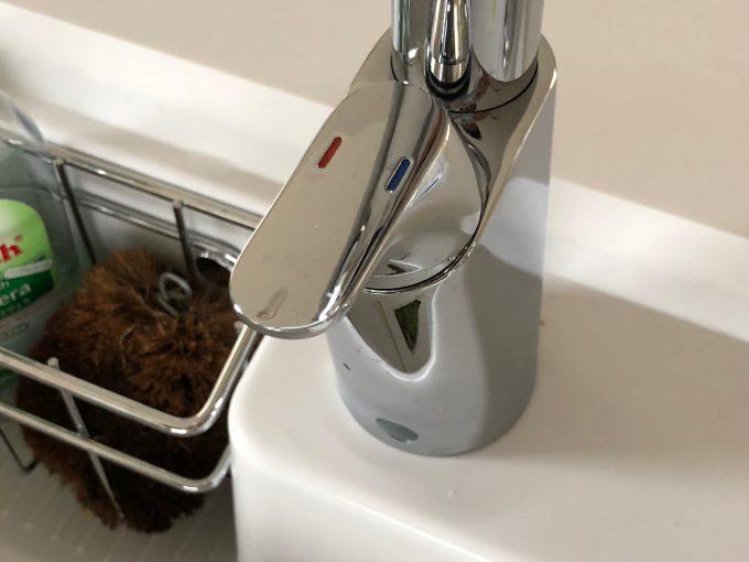 ナビッシュの水量設定ハンドル