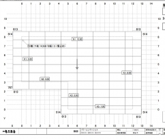 太陽光パネルの設置図面
