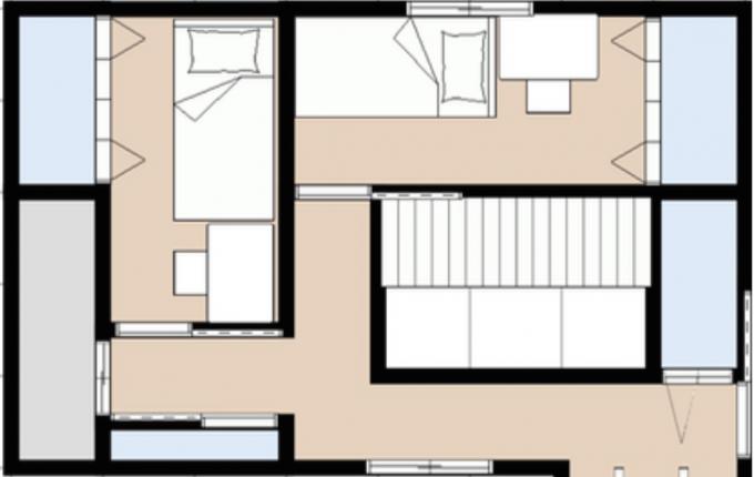 子供部屋家具の配置