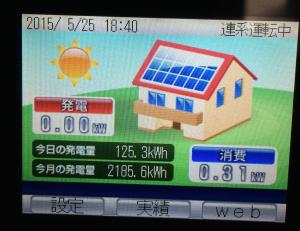 太陽光発電120kw越え