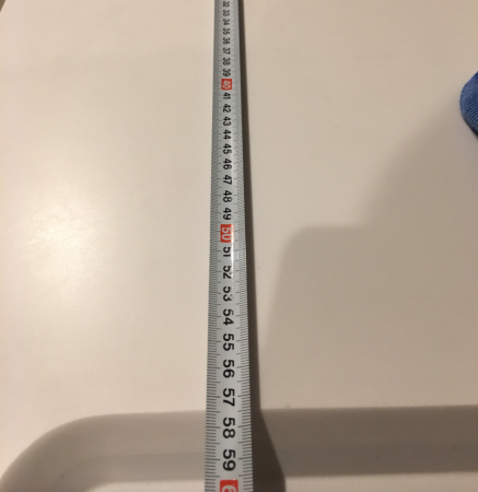 IHとシンクの間のサイズ