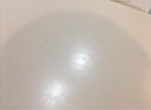 人工大理石の天板の傷や水垢