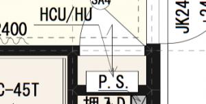 北海道の熱交換器設置場所