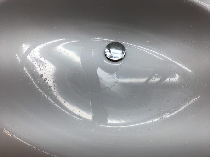コーティング前の洗面ボール