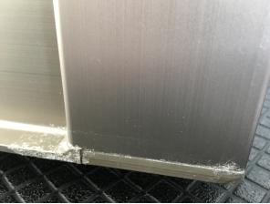 水漏れした扉