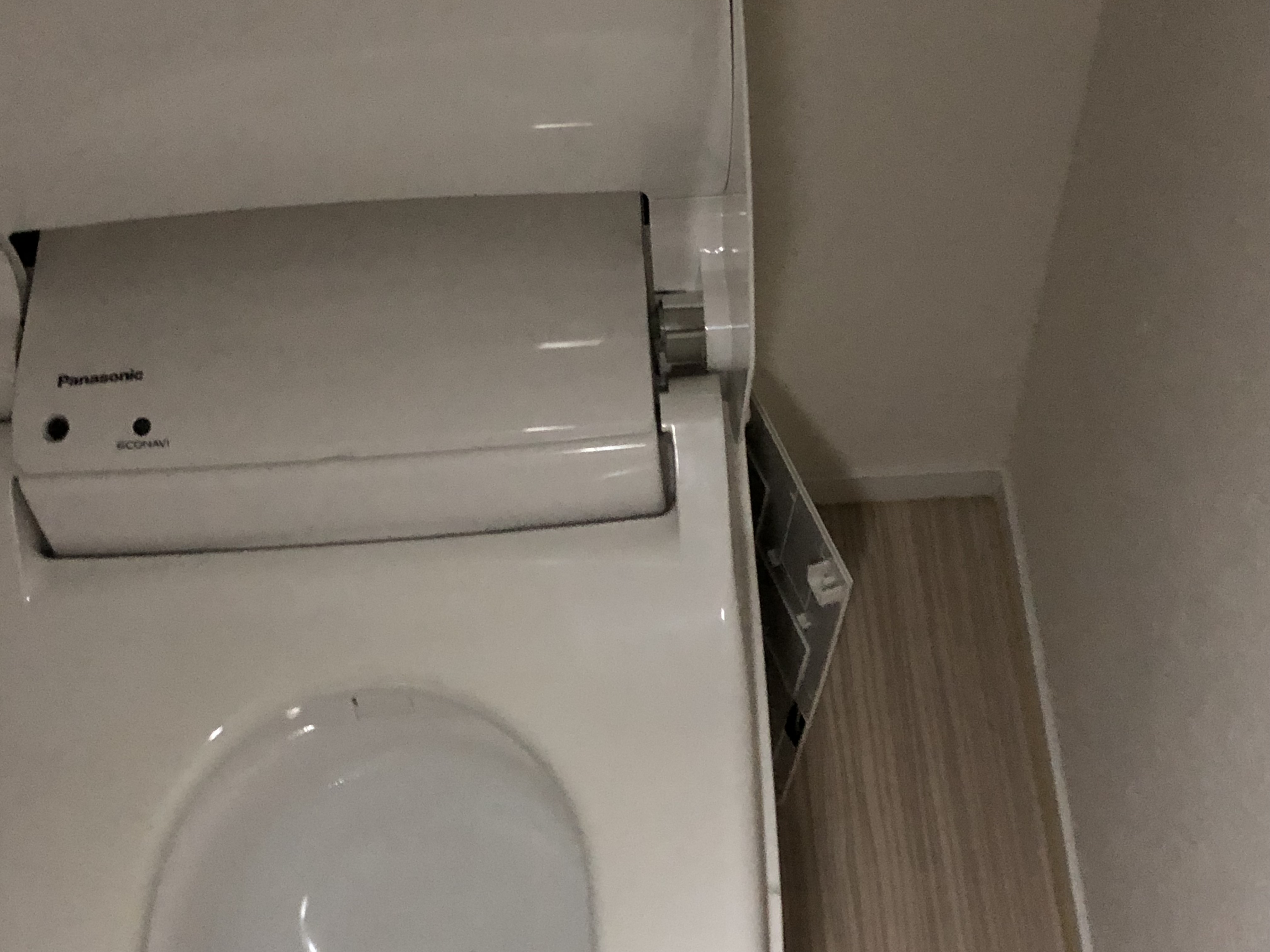 アラウーノの排水ハンドル