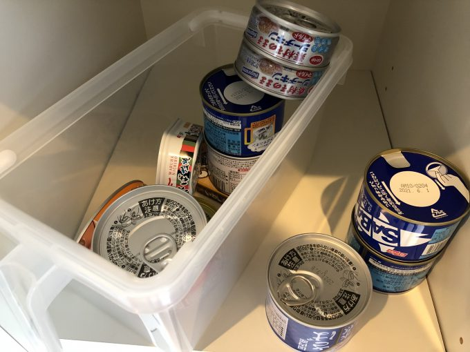 非常用の缶詰