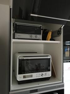 家電収納一番上の扉内部