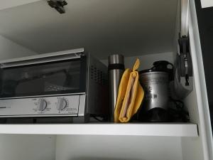 家電収納一番上の棚