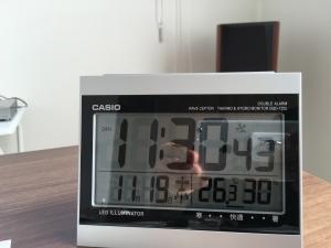 2階書斎の湿度と気温