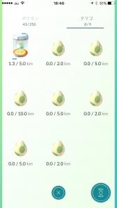 タマゴの孵化状況