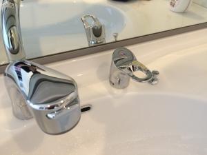 i-smartの洗面台の蛇口