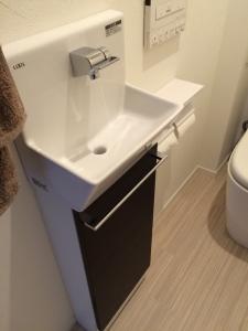 2階コフレル手動水栓