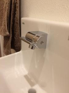 コフレル手動水栓の蛇口部分