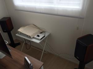 書斎のアンプ