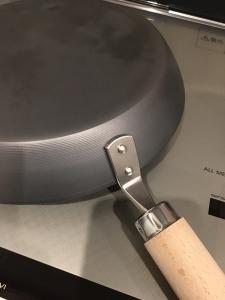 リバーライト極、取っ手の固定部分