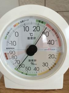 22日午前室内湿度1階リビング