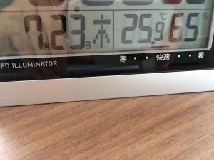 23日2階書斎湿度