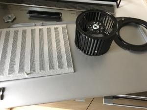 換気扇の分解掃除