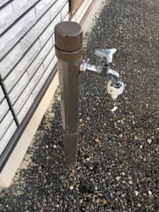 立水栓の水抜き