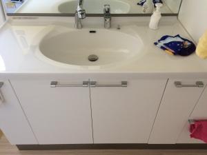 洗面台下の収納