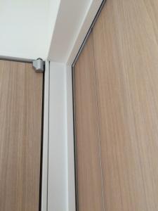 交換作業後の書斎のドア1