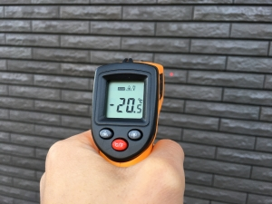 外壁の温度2