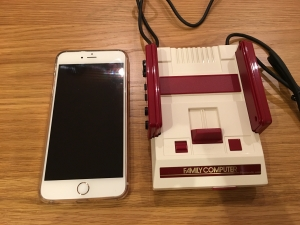 ミニファミコンとiPhone6sPlus