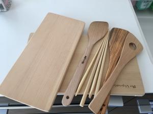 木の調理道具