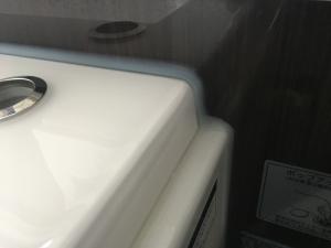 浴槽のコーキング