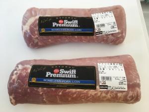 コストコの豚ロース肉