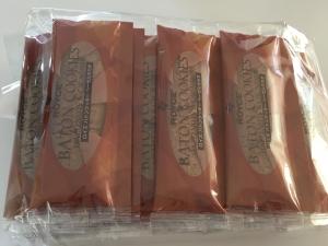 バトンクッキーのハネ品包装済み