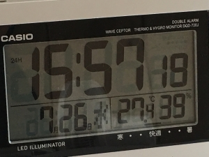 エアコンを使った部屋の湿度と気温