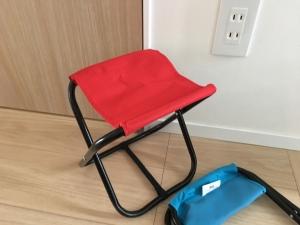 ダイソーのアウトドア用椅子