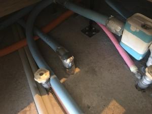 寒冷地の水道配管