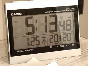 寒波の日の室温2